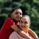 Armando y su mamá